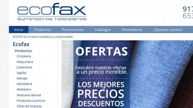 ECOFAX: Suministros Hosteleros