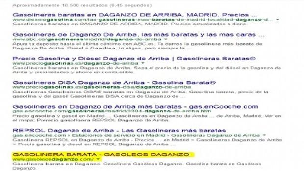 SEO Gasóleos Daganzo – Gasolinera barata