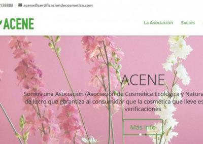 ACENE – Asociación de Cosmética Ecológica y Natural de España.