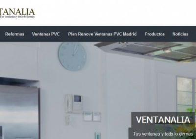 SEO – Ventanas PVC en Madrid y Reformas Integrales VENTANALIA