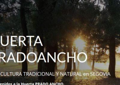 Nueva Web HUERTA PRADOANCHO