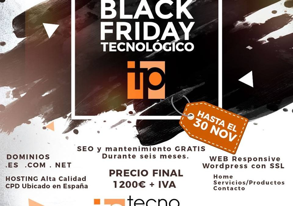 Renovamos WEB con oferta BLACKFRIDAY