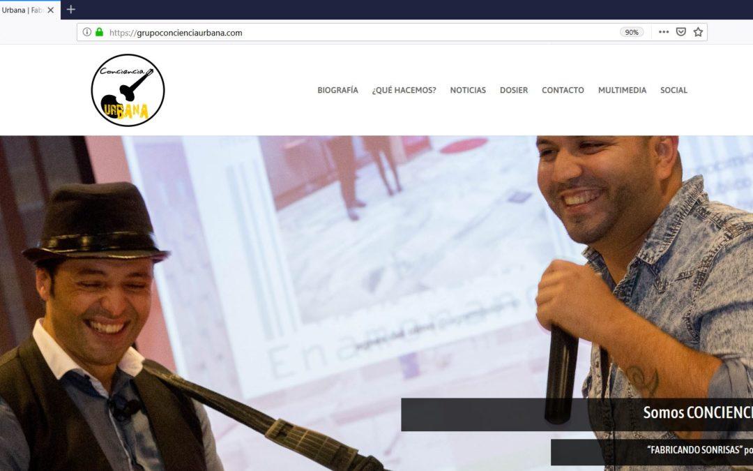 Nueva Web – GRUPO MUSICAL CONCIENCIA URBANA