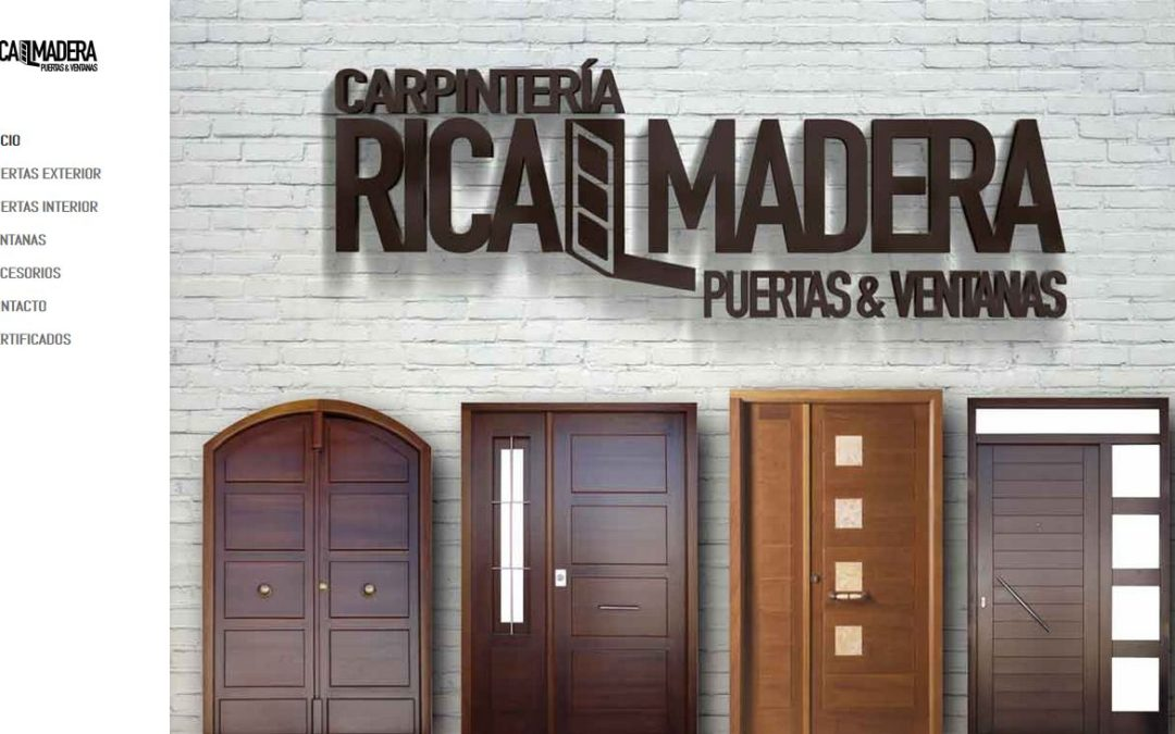 Carpintería de puertas y ventanas RICALMADERA