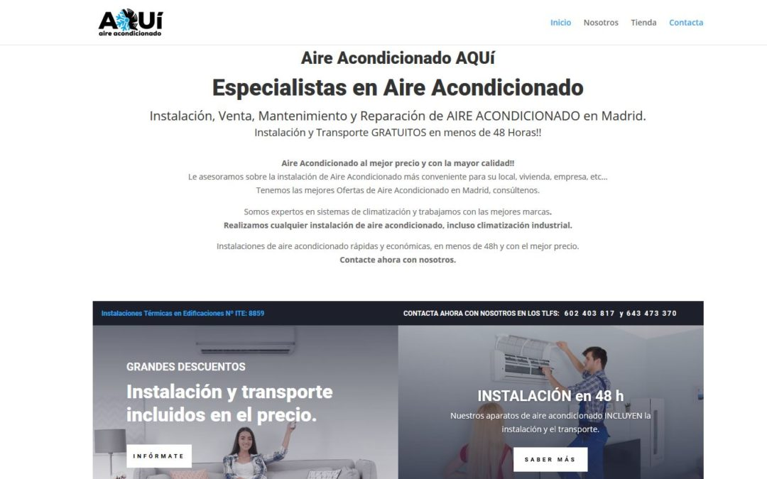 Aire Acondicionado AQUí – Ofertas Aire Acondicionado