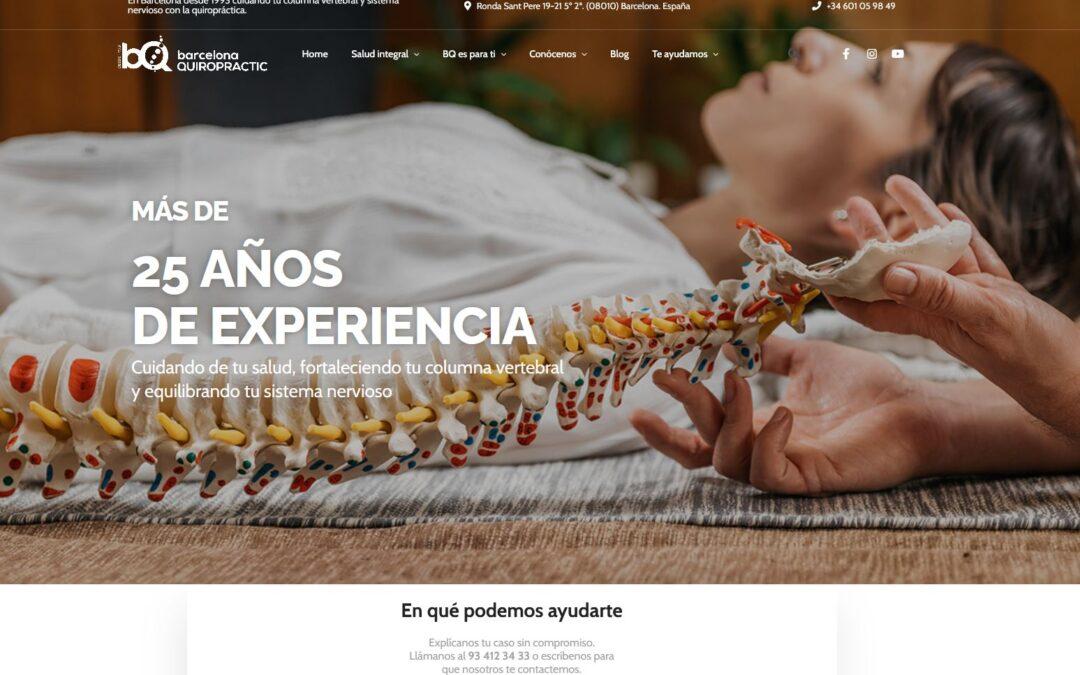 Consulta Quiropráctica en Barcelona – Barcelona Quiropractic