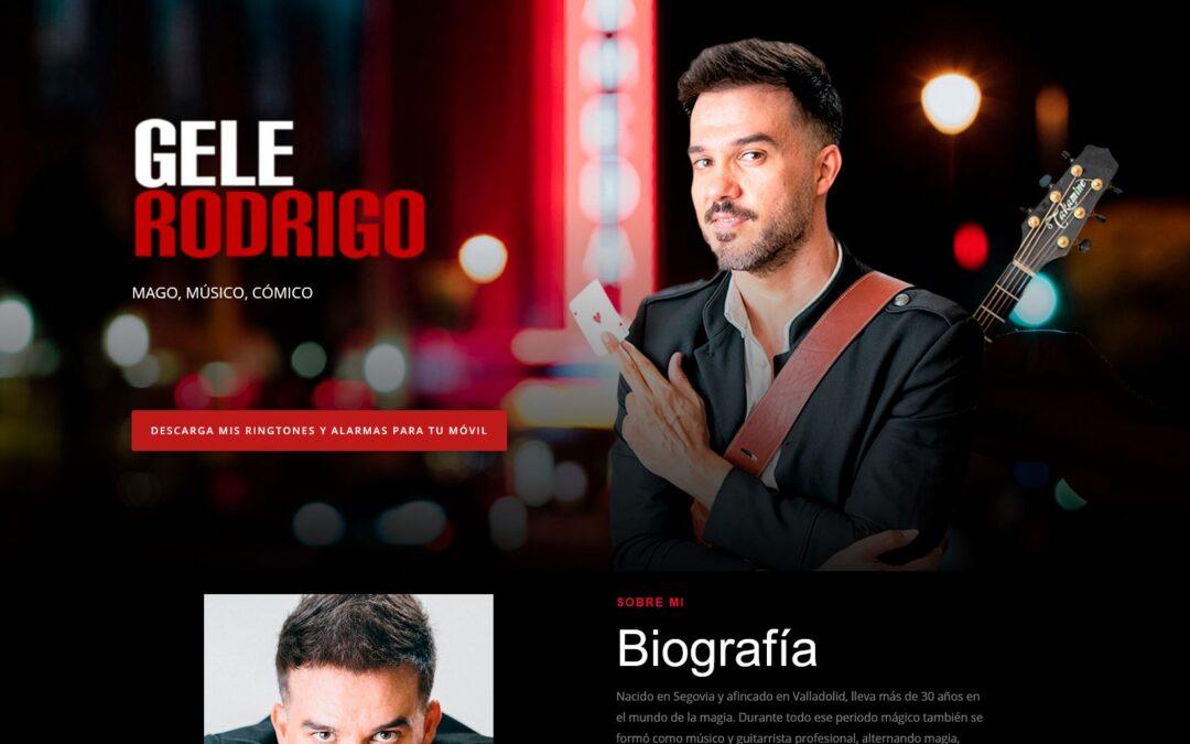 Gele Rodrigo – MAGO, MÚSICO, CÓMICO